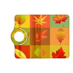 Autumn Leaves Colorful Fall Foliage Kindle Fire Hd (2013) Flip 360 Case by Nexatart