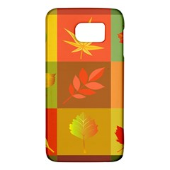 Autumn Leaves Colorful Fall Foliage Galaxy S6 by Nexatart