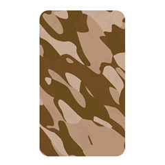Background For Scrapbooking Or Other Beige And Brown Camouflage Patterns Memory Card Reader by Nexatart
