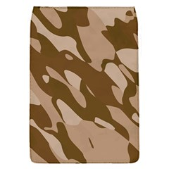 Background For Scrapbooking Or Other Beige And Brown Camouflage Patterns Flap Covers (s)