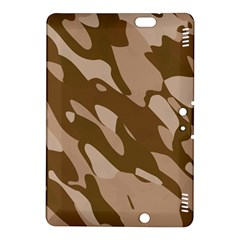 Background For Scrapbooking Or Other Beige And Brown Camouflage Patterns Kindle Fire Hdx 8 9  Hardshell Case