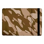 Background For Scrapbooking Or Other Beige And Brown Camouflage Patterns Samsung Galaxy Tab Pro 10.1  Flip Case Front