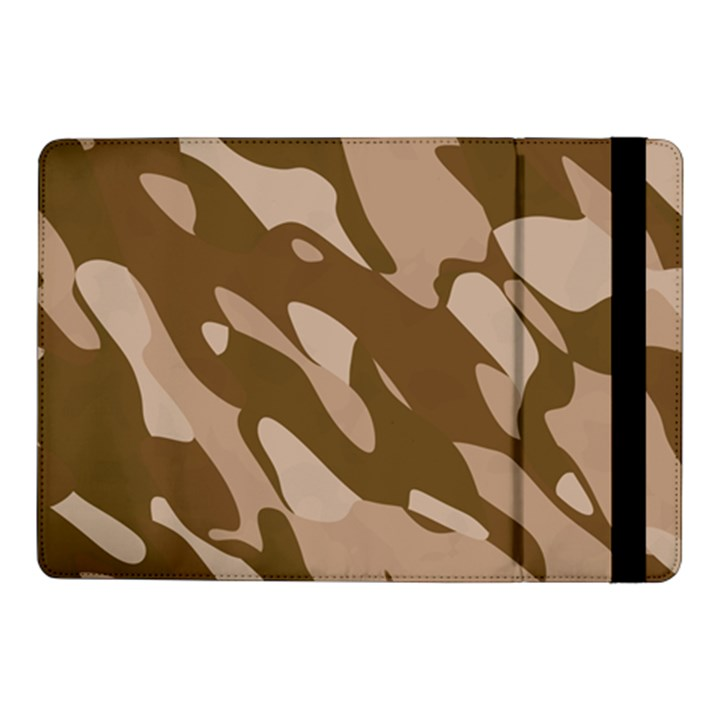 Background For Scrapbooking Or Other Beige And Brown Camouflage Patterns Samsung Galaxy Tab Pro 10.1  Flip Case