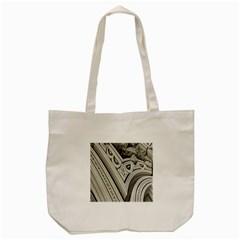 Arches Fractal Chaos Church Arch Tote Bag (cream) by Nexatart