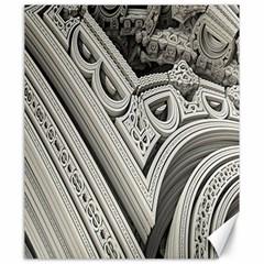 Arches Fractal Chaos Church Arch Canvas 20  X 24