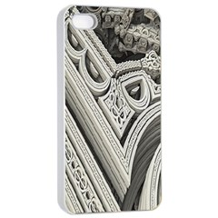 Arches Fractal Chaos Church Arch Apple Iphone 4/4s Seamless Case (white) by Nexatart