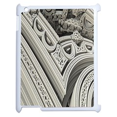 Arches Fractal Chaos Church Arch Apple Ipad 2 Case (white)