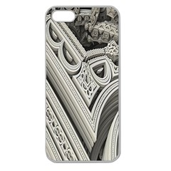 Arches Fractal Chaos Church Arch Apple Seamless Iphone 5 Case (clear) by Nexatart