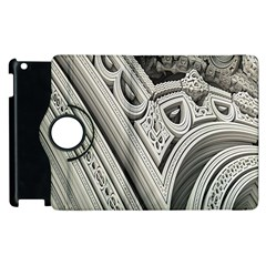 Arches Fractal Chaos Church Arch Apple Ipad 3/4 Flip 360 Case