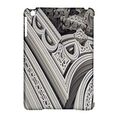 Arches Fractal Chaos Church Arch Apple iPad Mini Hardshell Case (Compatible with Smart Cover) by Nexatart
