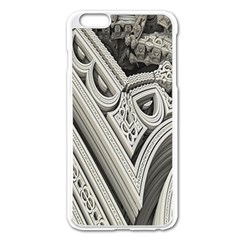 Arches Fractal Chaos Church Arch Apple Iphone 6 Plus/6s Plus Enamel White Case by Nexatart