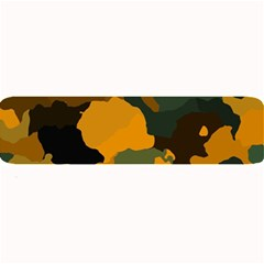 Background For Scrapbooking Or Other Camouflage Patterns Orange And Green Large Bar Mats by Nexatart