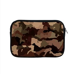 Background For Scrapbooking Or Other Camouflage Patterns Beige And Brown Apple Macbook Pro 15  Zipper Case by Nexatart