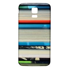 Background Book Books Children Samsung Galaxy S5 Back Case (white)