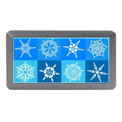 Background Blue Decoration Memory Card Reader (mini)