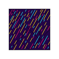 Background Lines Forms Acrylic Tangram Puzzle (4  X 4 )