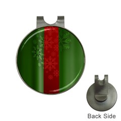 Background Christmas Hat Clips With Golf Markers