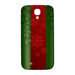 Background Christmas Samsung Galaxy S4 I9500/i9505  Hardshell Back Case
