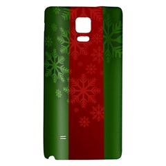Background Christmas Galaxy Note 4 Back Case by Nexatart