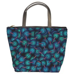 Background Abstract Textile Design Bucket Bags