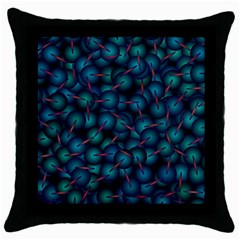 Background Abstract Textile Design Throw Pillow Case (black) by Nexatart