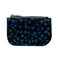 Background Abstract Textile Design Mini Coin Purses by Nexatart
