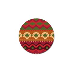 Background Plot Fashion Golf Ball Marker