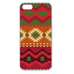 Background Plot Fashion Apple Seamless Iphone 5 Case (clear)