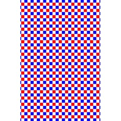 Blue Red Checkered 5 5  X 8 5  Notebooks