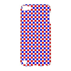 Blue Red Checkered Apple Ipod Touch 5 Hardshell Case