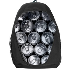Black And White Doses Cans Fuzzy Drinks Backpack Bag