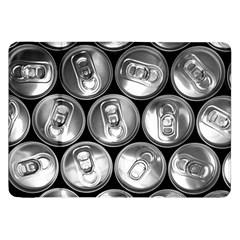 Black And White Doses Cans Fuzzy Drinks Samsung Galaxy Tab 8 9  P7300 Flip Case