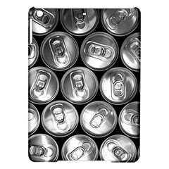 Black And White Doses Cans Fuzzy Drinks Ipad Air Hardshell Cases by Nexatart