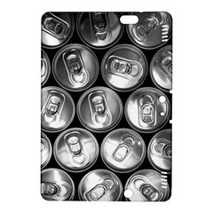 Black And White Doses Cans Fuzzy Drinks Kindle Fire Hdx 8 9  Hardshell Case by Nexatart
