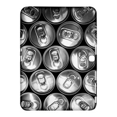 Black And White Doses Cans Fuzzy Drinks Samsung Galaxy Tab 4 (10 1 ) Hardshell Case  by Nexatart