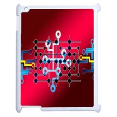 Board Circuits Trace Control Center Apple Ipad 2 Case (white)