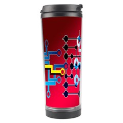 Board Circuits Trace Control Center Travel Tumbler by Nexatart