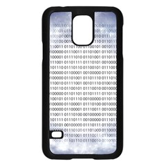 Binary Computer Technology Code Samsung Galaxy S5 Case (black)