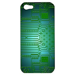 Board Conductors Circuits Apple Iphone 5 Hardshell Case