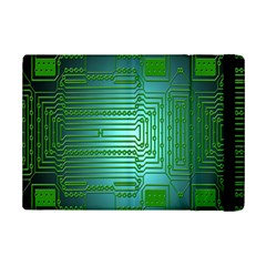 Board Conductors Circuits Ipad Mini 2 Flip Cases by Nexatart