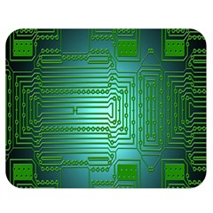 Board Conductors Circuits Double Sided Flano Blanket (medium)