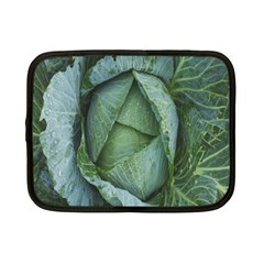 Bright Cabbage Color Dew Flora Netbook Case (small)