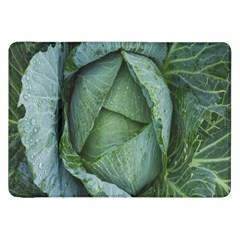 Bright Cabbage Color Dew Flora Samsung Galaxy Tab 8 9  P7300 Flip Case by Nexatart