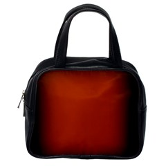 Brown Gradient Frame Classic Handbags (one Side)