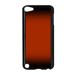 Brown Gradient Frame Apple Ipod Touch 5 Case (black)