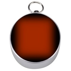 Brown Gradient Frame Silver Compasses