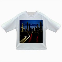 Building And Red And Yellow Light Road Time Lapse Infant/toddler T Shirts