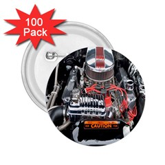 Car Engine 2.25  Buttons (100 pack)