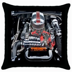 Car Engine Throw Pillow Case (black) by Nexatart