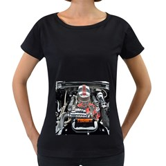 Car Engine Women s Loose-Fit T-Shirt (Black) by Nexatart